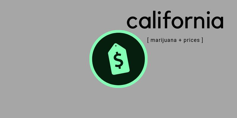 california marijuana prices
