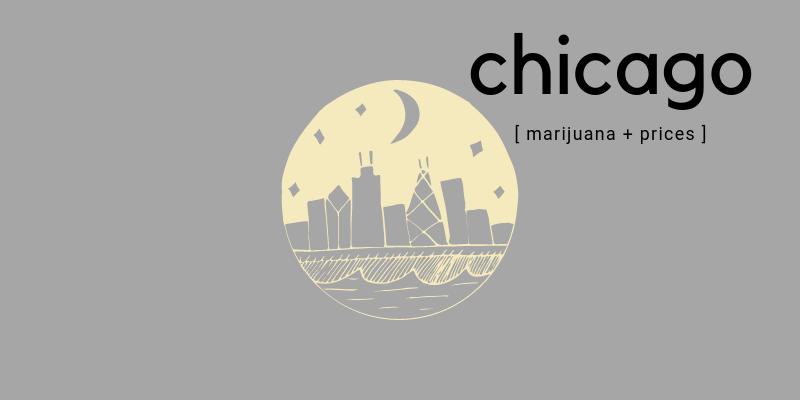 chicago marijuana prices