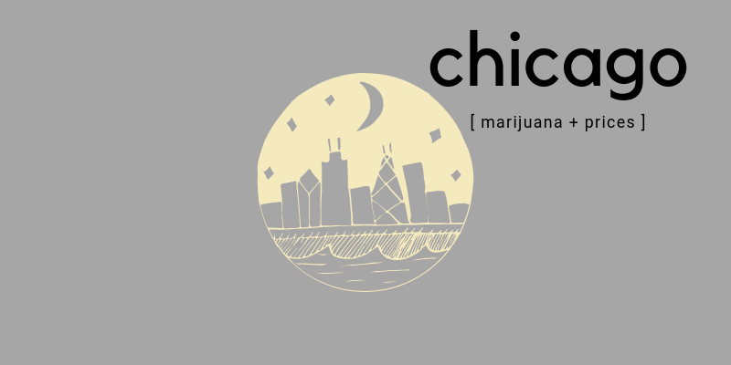 chicago marijuana prices